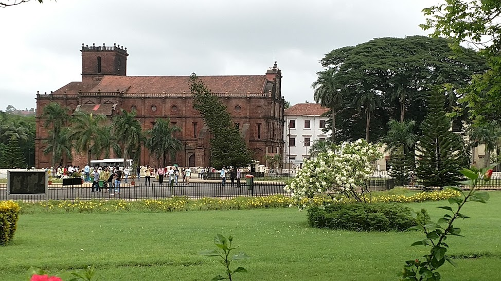 Basilica de Bom Jesus is a UNESCO World Heritage Site in Goa.