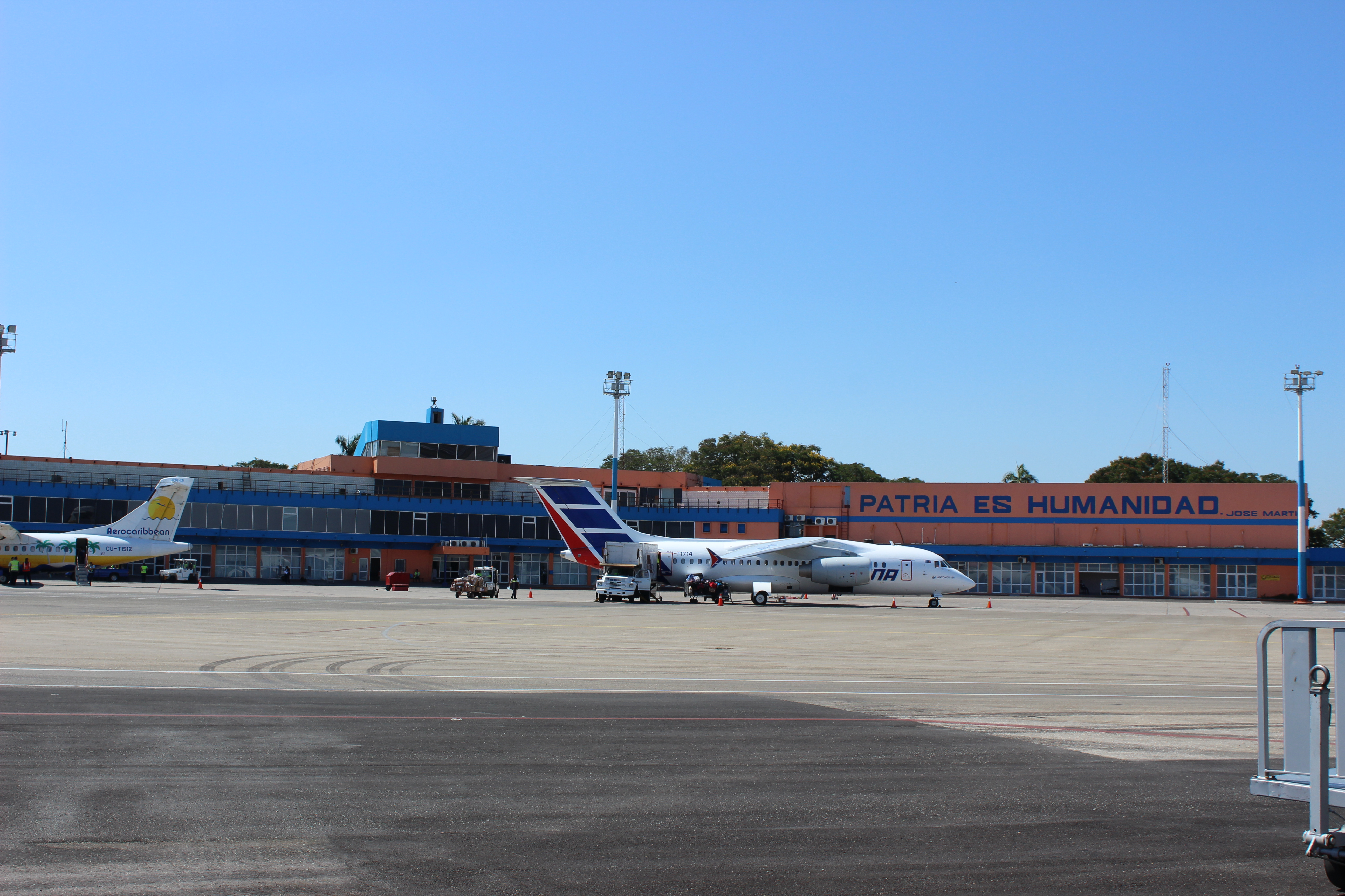 José Martí International Airport in Havana, Cuba