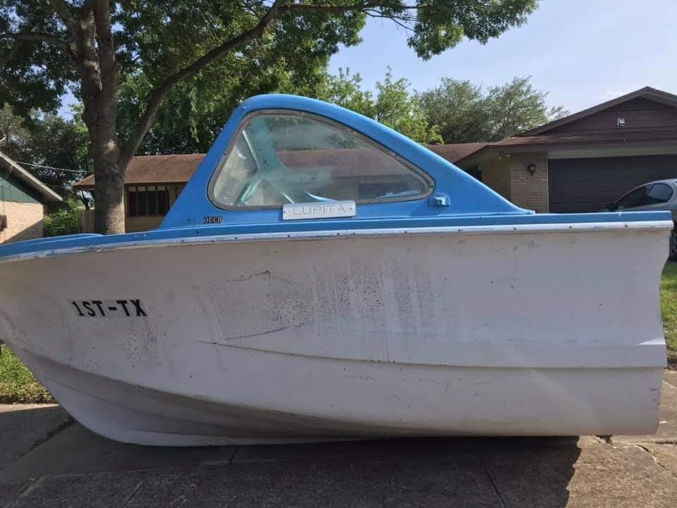 Lupita the half boat photo credit B. Kay Richter