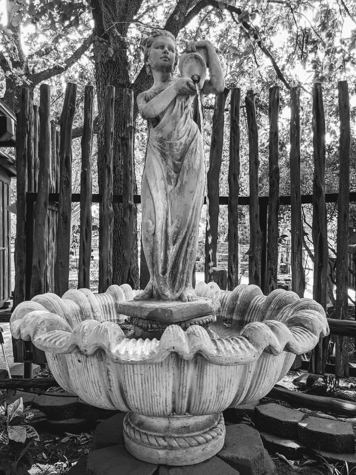 Statue at Wildseed Farm, photo credit: Iris Gonzalez