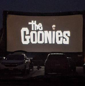 Drive-in movie outing in the summer of 2020, photo credit: Iris Gonzalez.
