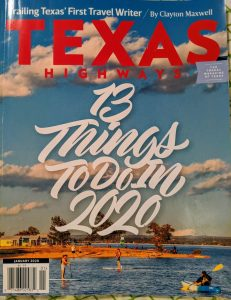 Texas Magazine cover, photo credit: Iris Gonzalez.